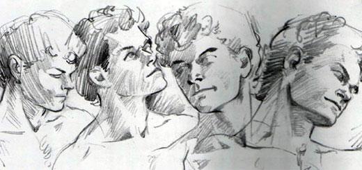 Образец рисунка человека в старшей группе