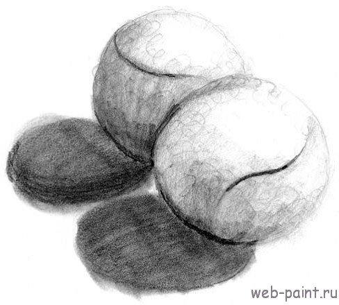 Как нарисовать несколько объемных сфер?10