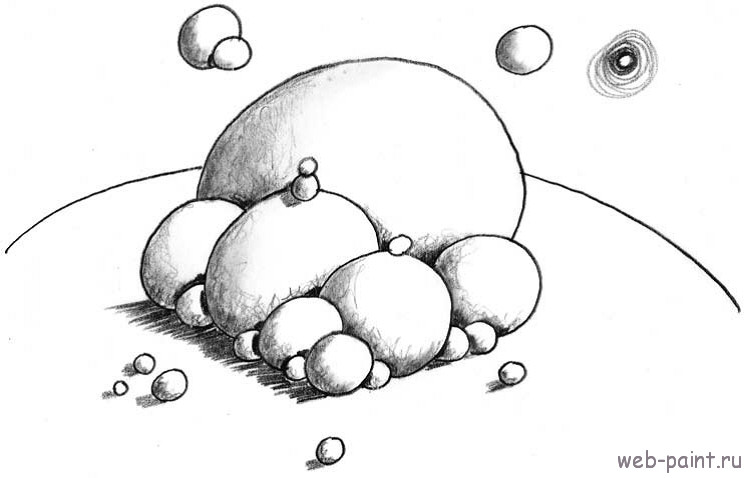 Рисуем космос.17