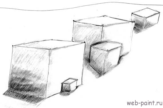 УРОК 4. Учимся рисовать трехмерный куб