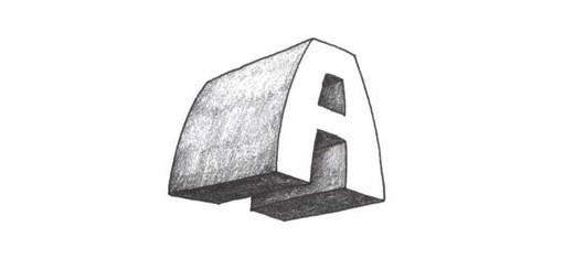 Урок 1.4. Буква «А» в стиле «супер 3D»