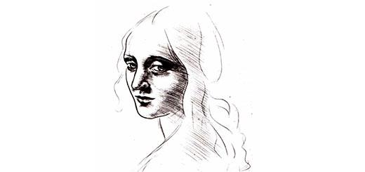 Как красиво нарисовать лицо карандашом поэтапно